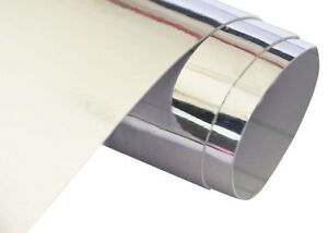 Chrome-Silver-Stretchable-Vinyl-Car-Wrap-with-Air-Release-Various-Sizes