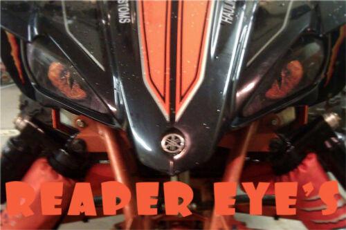 YAMAHA RAPTOR  Wolverine REAPER HeadLight Covers RUKIND COVERS