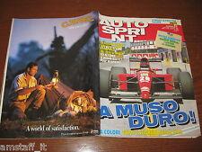 AUTOSPRINT 1991/27=COVER FERRARI 643=NOVITA' CITROEN AX GTI + 4X4=
