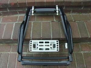 volvo 240 front seat backrest frame lumbar support set for 1992 1993 cars ebay. Black Bedroom Furniture Sets. Home Design Ideas