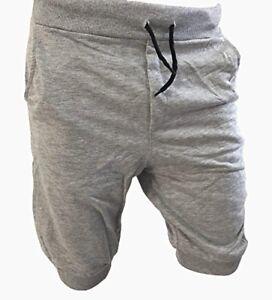 scarpe di separazione ddd77 dad27 Dettagli su Calzoncini Corti Uomo Pantaloncini Bermuda Cotone Con Tasche  pantalone tuta