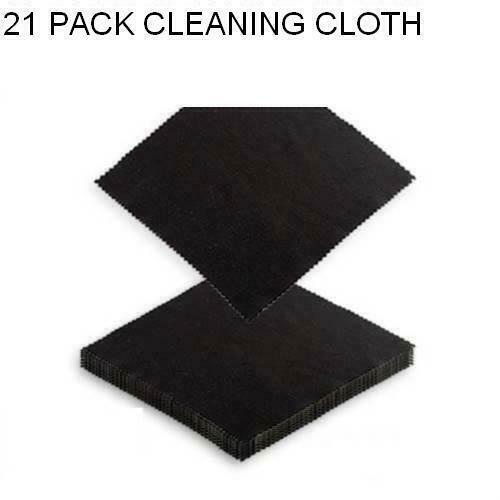 21 X Microfiber Cleaning Cloth Smart Phone Camera Lens Screen Glasses Monitor
