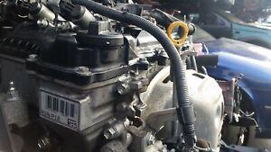 TOYOTA-YARIS-1-3-PETROL-2011-COMPLETE-ENGINE-CODE-R1N-P12