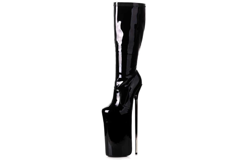Giaro Fly Over Stiefel in Übergrößen Schwarz große Damenschuhe
