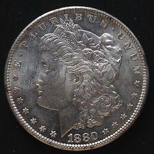 EE. UU. morgan dólares 1880 s San Francisco MS bu plata PL rara vez 3393