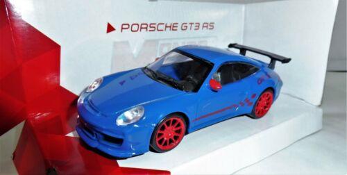 PORSCHE GT3 RS BLEU 1//43 MONDO MOTORS DIECAST//METAL Neuf en Boite