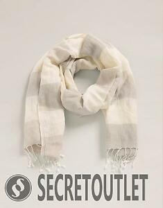 49ad54c06 Esprit New Ladies Women Light Beige Woven Scarf with Long Fringes RP ...