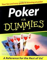 Poker For Dummies By Richard D. Harroch, (paperback), For Dummies , New, Free Sh