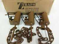 3 Z Trap Dead Grass (pull Only) Dp Dog Proof Coon Trap Trapping Raccoon