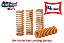 4x 3D Printers Heated Bed Compression Springs for Creality CR-10 10S Ender 3