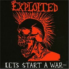 The Exploited Let's Start A War... CD+Bonus Tracks NEW SEALED Punk Rival Leaders