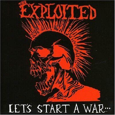 The Exploited Let's Start A War... CD+Bonus Tracks NEW SEALED Punk Rival Leaders