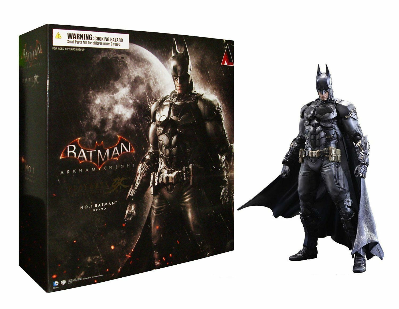 DC COMICS PLAY ARTS KAI NO. 1 BATMAN ARKHAM KNIGHT SQUARE ENIX ACTION FIGURE TOY