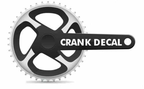 Crank Set Stickers Decals MTB SRAM X0 Mountain Bike Bicycle Adhesive 2 Pcs Gold