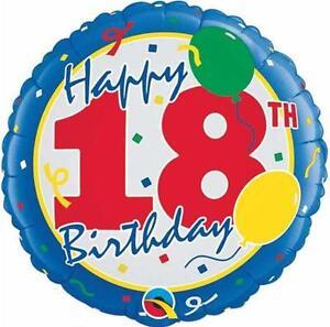 18th-BIRTHDAY-PARTY-SUPPLIES-BALLOON-18-034-BIRTHDAY-BALLOONS-amp-STARS-FOIL-BALLOON