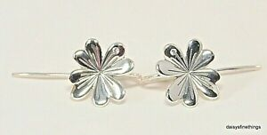 Image Is Loading New Tags Authentic Pandora Earrings Lucky Four Leaf