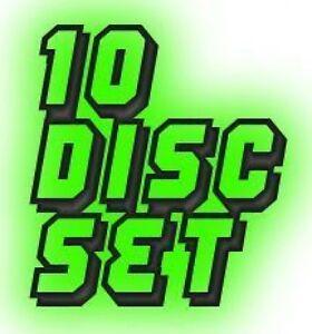 10-Disc-All-Hits-Pop-Rock-Oldies-amp-Country-Hits-Karaoke-CDG-CD-Set-Songs