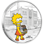 Tuvalu-1-Dollar-2019-Lisa-Simpson-Die-Simpsons-4-1-Oz-Silber-PP Indexbild 1