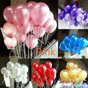 30PCS-10inch-Latex-Balloon-Wedding-Birthday-Party-Helium-Balloons-Decor-New
