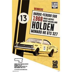 Holden-1968-Bathurst-Winner-POSTER-61x91cm-NEW-Bruce-Mcphee-Hardie-Ferodo-500