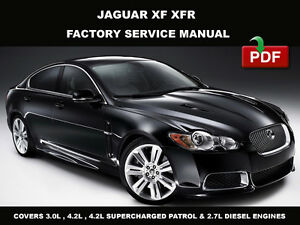 Details about JAGUAR XF 2008 - 2009 FACTORY SERVICE REPAIR MANUAL + on