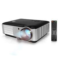 Pyle Prjle78 Hd 1080p Projector Up To 200 2800 Lumens 1280 X 800 W/ Speaker on sale