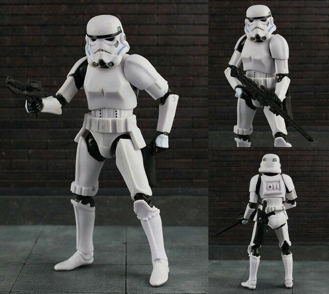 StarWars figurine : Star Wars The Black Series #09 Stormtrooper Storm Trooper Action Figure Figurine