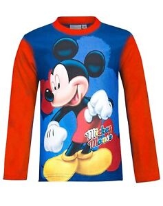 Disney Mickey Mouse Boys T-Shirt Age 3 years to 8 years