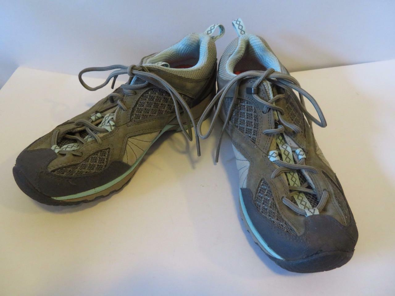 WOMENS MERRELL ORTHOLITE SNEAKERS AIRCUSHION GRAY,BLUE SNEAKERS ORTHOLITE SIZE 7.5 d59220