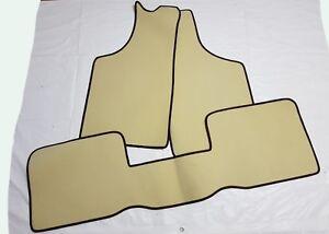 4 Decorazioni MASERATI BITURBO TAPPETI tappetini AUTO