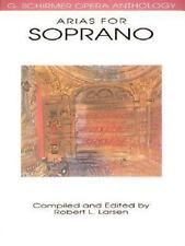 Arias for Soprano : G. Schirmer Opera Anthology (1991, Paperback)