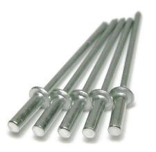 "POP Rivets Aluminum Closed End / Sealed (6-4) 3/16"" x(.126 - .250 Grip) Qty-100"