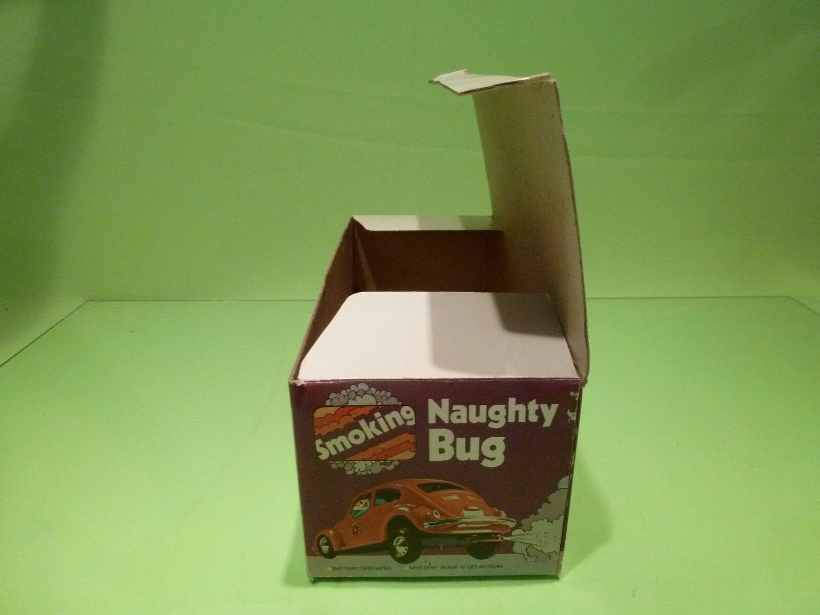 HC 969S - ONLY BOX for for for VW VOLKSWAGEN  BEETLE SMOKING NAUGHTY BUG - EMPTY BOX f90594