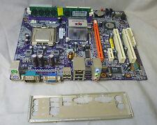 ECS P4M890T M V 20 Socket 775 Motherboard Complete With I O Plate CPU
