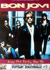 Original Konzertplakat  Bon Jovi  27.4.1993   Stuttgart Schleyerhalle