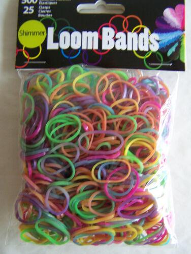 Loom Bands Value Pack 525//Pkg choice//color