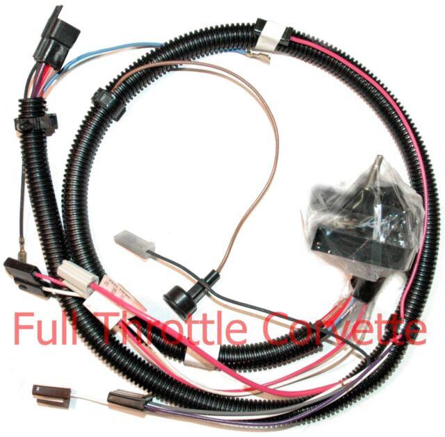 1978 corvette engine wiring harness new