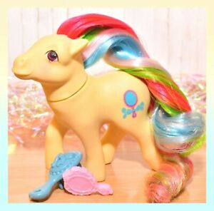 My-Little-Pony-MLP-G1-Vtg-Brush-n-Grow-Pretty-Vision-Long-Hair-Mirror