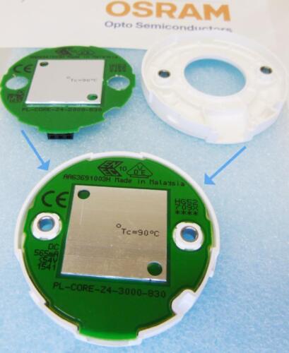 1 Stück//1piece PrevaLED Core Z4 LED module 3500K 4870lm 42W with COB Soleriq S19