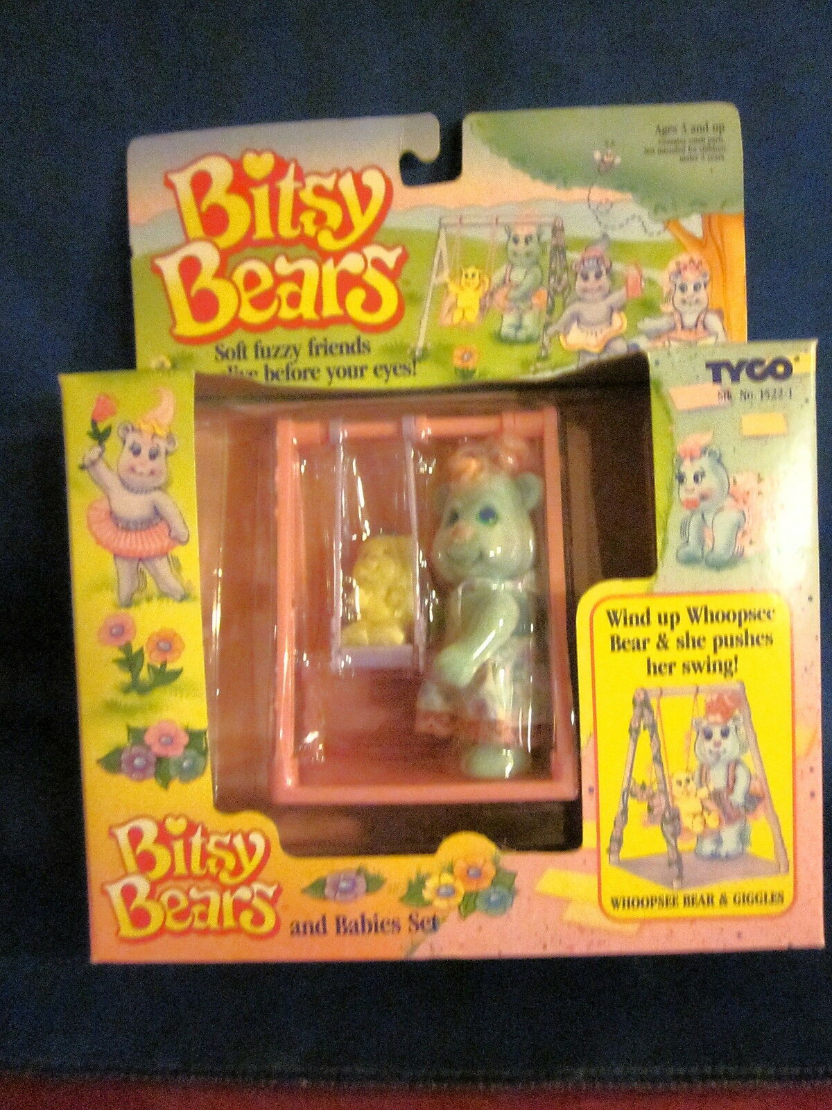 Tyco Bitsy Bears Whoopsee Bear & Giggles Sealed Set