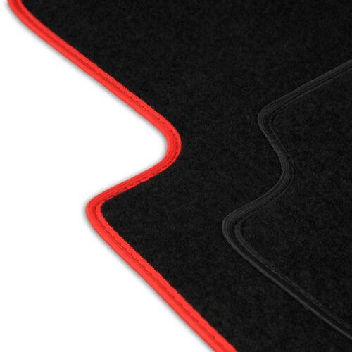 Fußmatten Auto Autoteppich passend für VW Fox 5Z 2003-2011 Velours Set CACZA0202