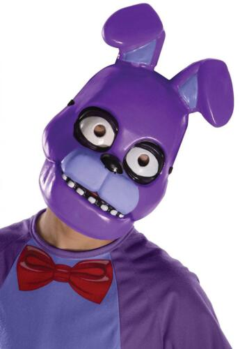 Five Nights at Freddy/'s Multi-colored Bonnie Child PVC Mask One Size