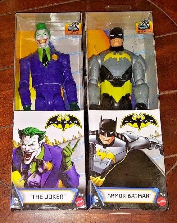 Batman Unlimited 12  Action Figures  THE JOKER + ARMOR BATMAN  Free Shipping