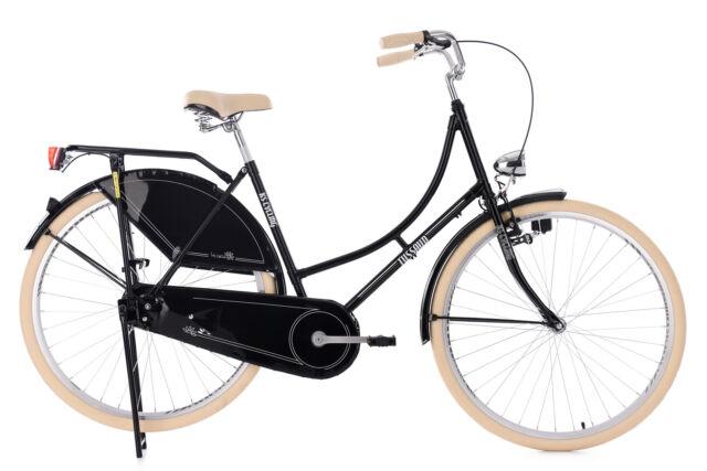 Hollandrad KS Cycling Tussaud 28 Zoll 53cm 1 Gang Damen - schwarz