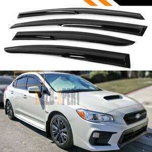 For 2015 2018 Subaru Wrx Sti Va 3d Wavy Style Window Visor