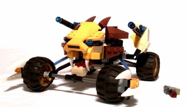 Sur De Soi Lego Chima 70002 Lennox Lion Attack + Obadiah, + Nouveau Vp-complet, Sans Personnages Par Processus Scientifique