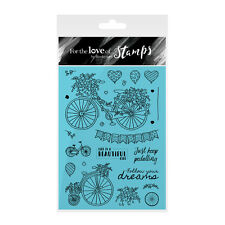A BEAUTIFUL RIDE - For The Love of Stamps Clear Stamp Set - Hunkydory
