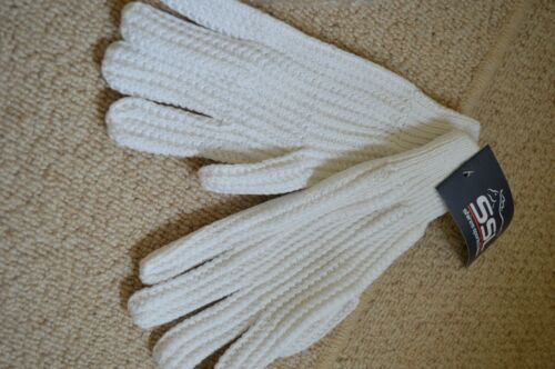 Shires Sports /& Leisure COTTON White Showing Gloves