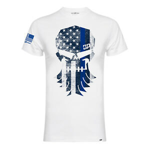 Official-Diesel-Power-Gear-Thin-Blue-Line-DieselSellerz-T-Shirt