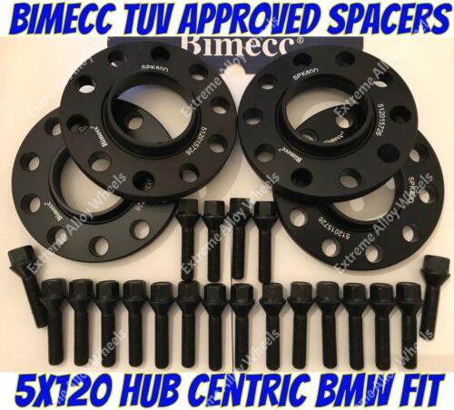 Aleación Rueda Espaciadores 10mm BMW E23 E32 E38 E31 7 8 serie Pernos M12X1.5 BB BIMECC